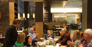 The ANV Opera Buffs met at Il Forno in January to discuss the opera Turandot