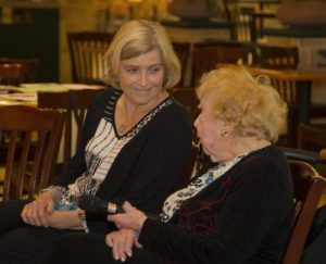 Picture of two women at ANV event