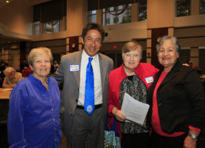 Members with Walter Tejada